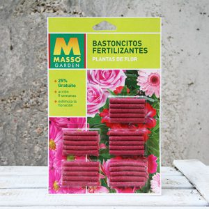 Bastones Fertilizantes planta de flor