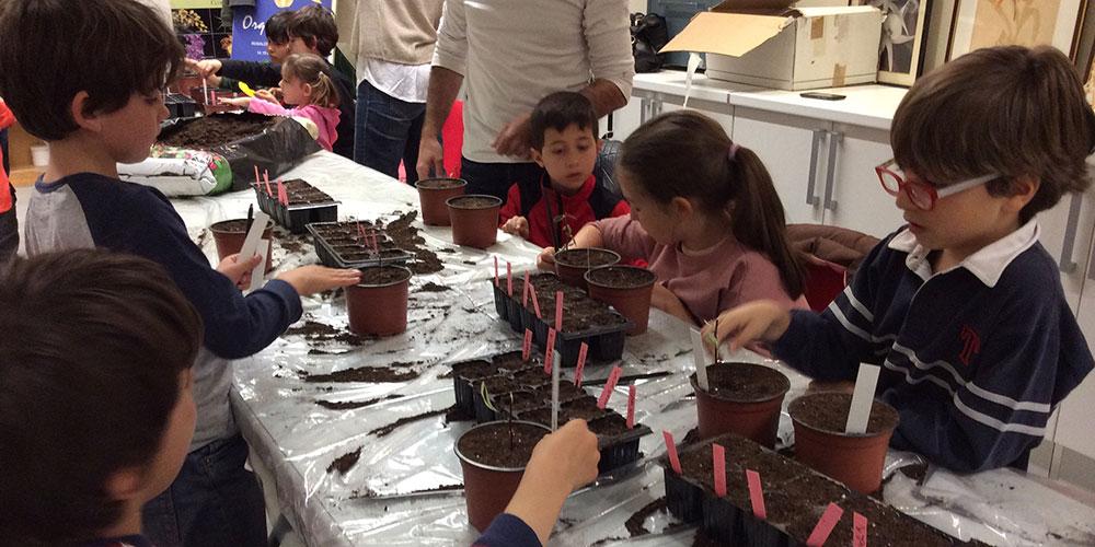 Taller Infantil de Jardineria Abril de 2017