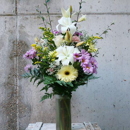 Florero-de-flor-variada