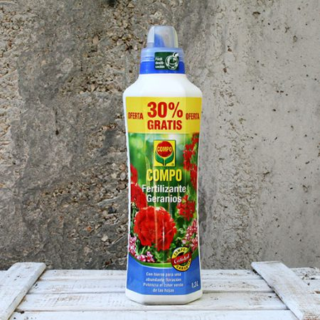 Compo Fertilizante Geranios 1300Ml