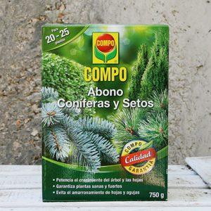 Abono Coniferas y Setos 750Gr